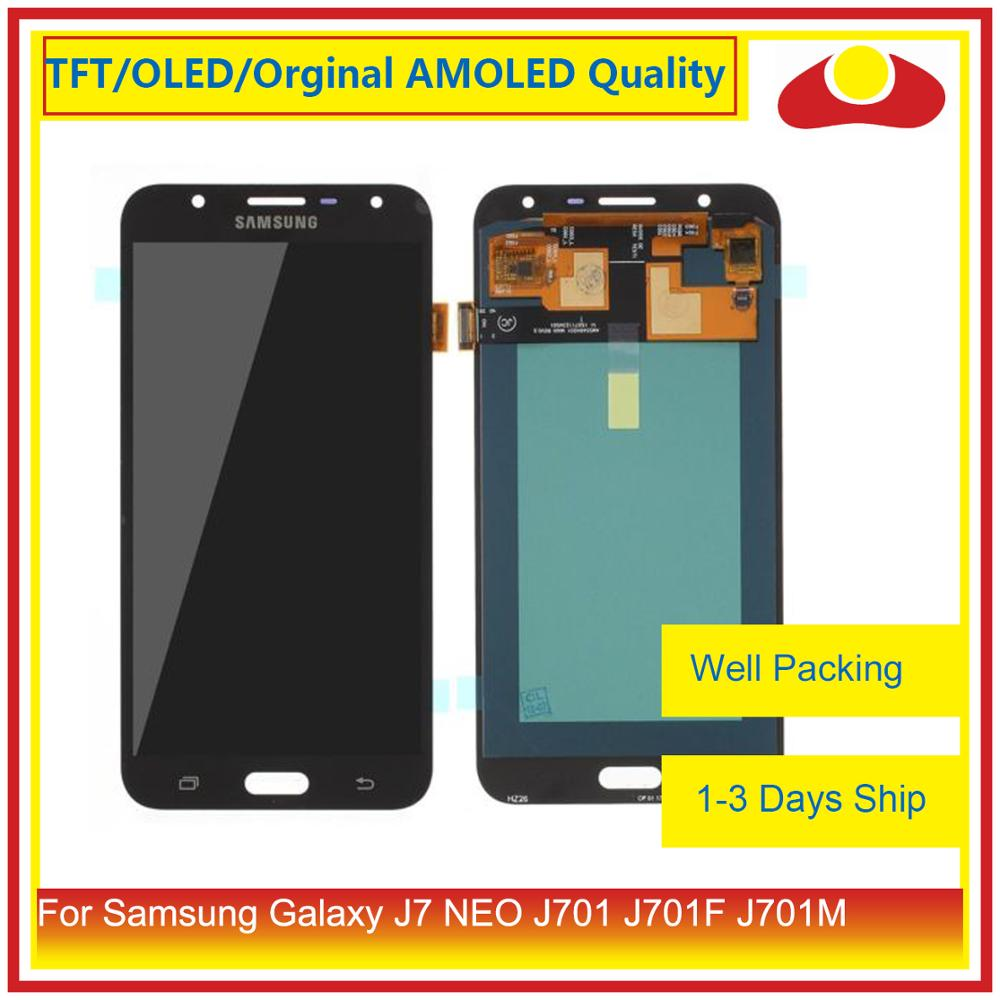 """Image 2 - ORIGINAL 5.5"""" For Samsung Galaxy J7 neo J701 J701F J701M J701MT LCD Display With Touch Screen Digitizer Panel Pantalla Complete-in Mobile Phone LCD Screens from Cellphones & Telecommunications"""