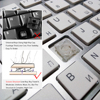 101 Keys Ultra-Thin Russian Keyboard 2.4GHz Wireless Mute Keyboard Teclado Gamer for Mac Win XP 7 10 Android TV Box 3