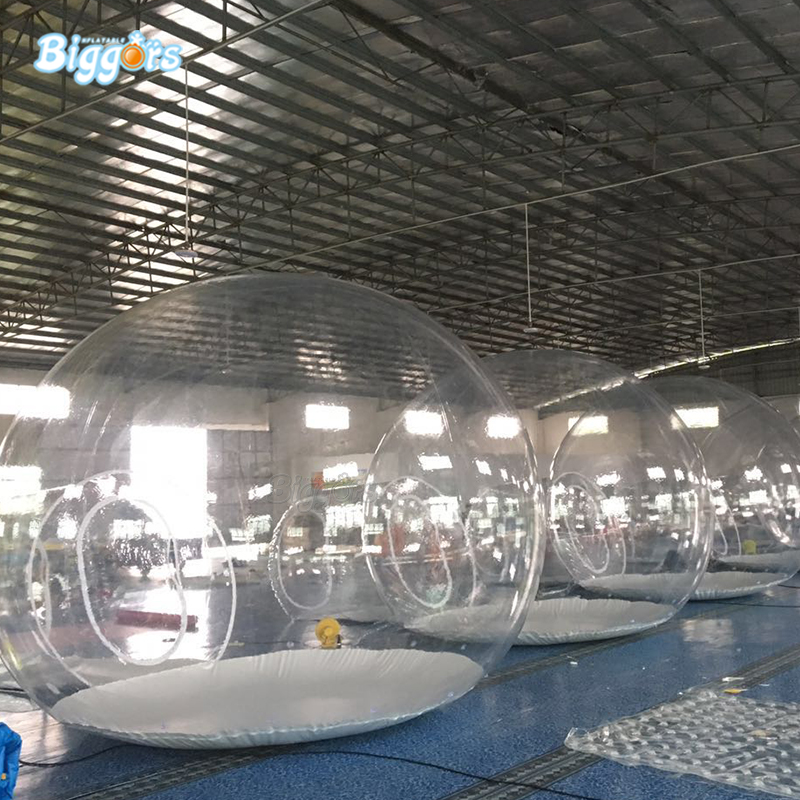 Commercial grade inflatable bubble tent inflatable crystal tent inflatable camping tent with blowers все цены