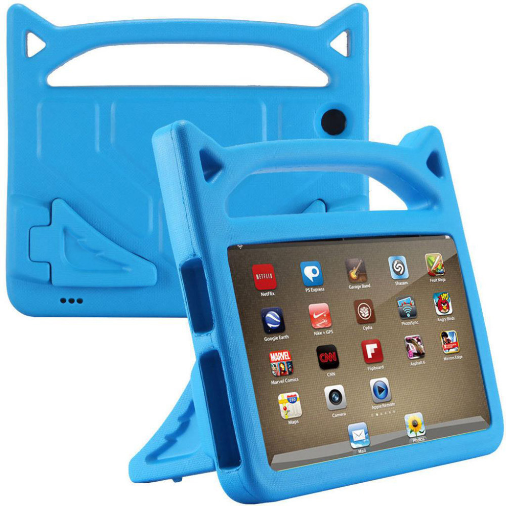 For Amazon Kindle Fire 7 2015/2017 Kids Protective Skin Safe EVA Rubber Handle Stand Tablet Case Cover 7 Inch 20J#10