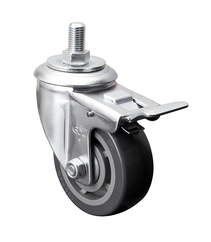 Swivel Castor Wheels Casters Wheels for Furniture 2 Inch 200kg for Trolley Furniture Caster JRing Castor Wheels 50mm