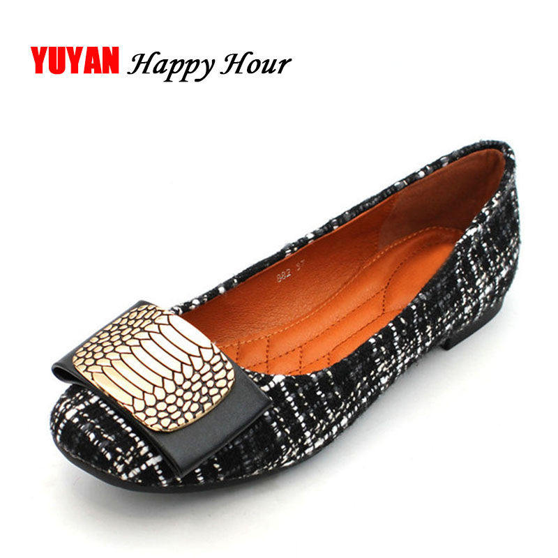 New 2018 Fashion Brand Shoes Women Flats Soft Single Shoes Elegant Women's Flats Ladies Flat Heel Plus Size 41 ZH2712 2017 brand new women s flats shoes diamond knitted soft pu leather gold silver point toe flats womens pr153 plus size 40 41