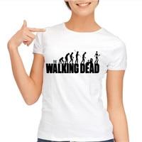 The Walking Dead T Shirts Women 2016 Ink Daryl Printed T Shirt Short Sleeve Camiseta Casual