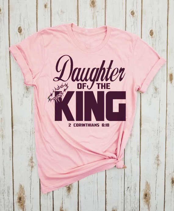 Figlia del re corona divertente slogan graphci moda donna camiseta rosa feminina t-shirt grunge tumblr cotton onc asual tee top