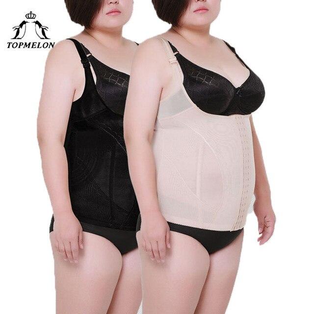 d17d159166 TOPMELON Slimming Belt Waist Trainer Modeling Strap Body Shaper Shapewear  Belly Slimming Sheath Plus Size Strap