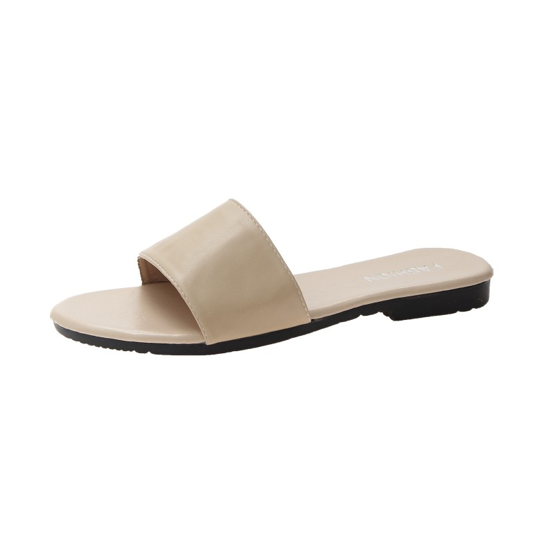 SAGACE Women Solid Color Open Toe Slippers Beach Shoes Flat Non-Slip Sandals High Quality Slides Womens Slipper Ladies ShoesSAGACE Women Solid Color Open Toe Slippers Beach Shoes Flat Non-Slip Sandals High Quality Slides Womens Slipper Ladies Shoes