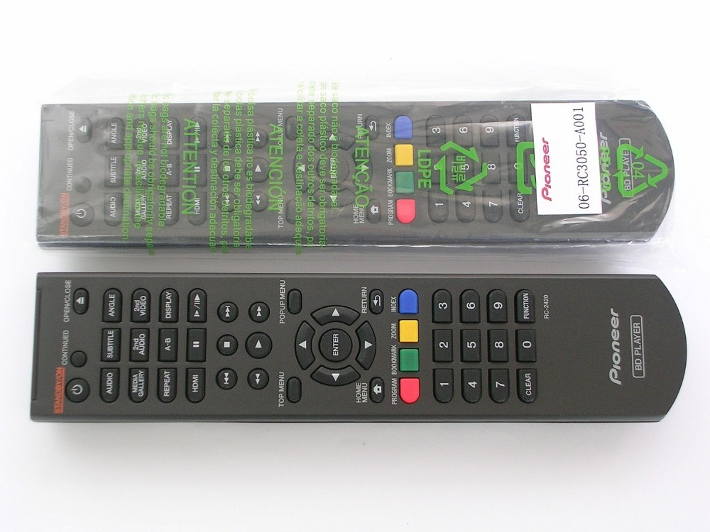 new original remote control RC-2420 for Pioneer <font><b>blu-ray</b></font> DVDS BDP-4110-K/G
