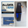 v10.53 alldata repair 2019 installed version mitchell ondemand auto repair software hdd 1tb 4g computer for car and heavy trucks