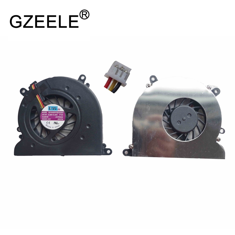GZEELE new Laptop cpu cooling fan for DELL Vostro 1310 V1310 1510 2510 V1320 Notebook Cooler Radiator Computer Replacement 3line