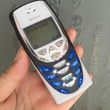 Nokia 8310 мобильный телефон 2G GSM 900/1800 разблокированный арабский клавиатура Восстановленный 8310 и один год гарантии