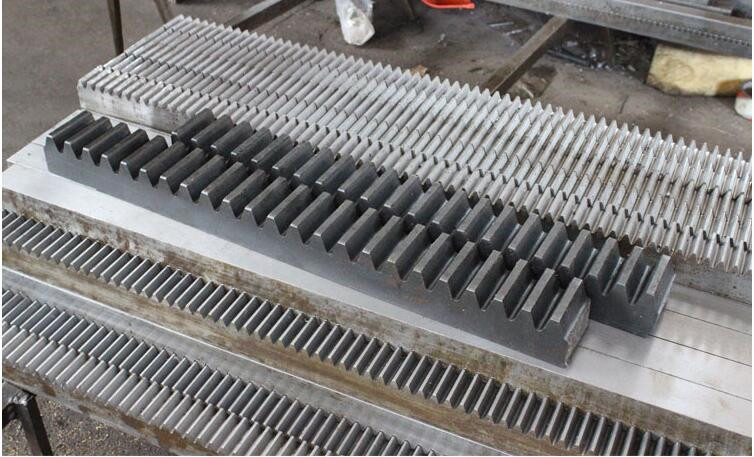 Free Shipping 5pcs 1Mod 10x10x1000mm spur Gear rack right teeth Gear rack Precision cnc rack straight