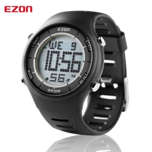 EZON Altimeter Barometer Thermometer Compass Weather Forecast Outdoor Men Digital Watches Sport Hours Climbing Hiking Wristwatch все цены