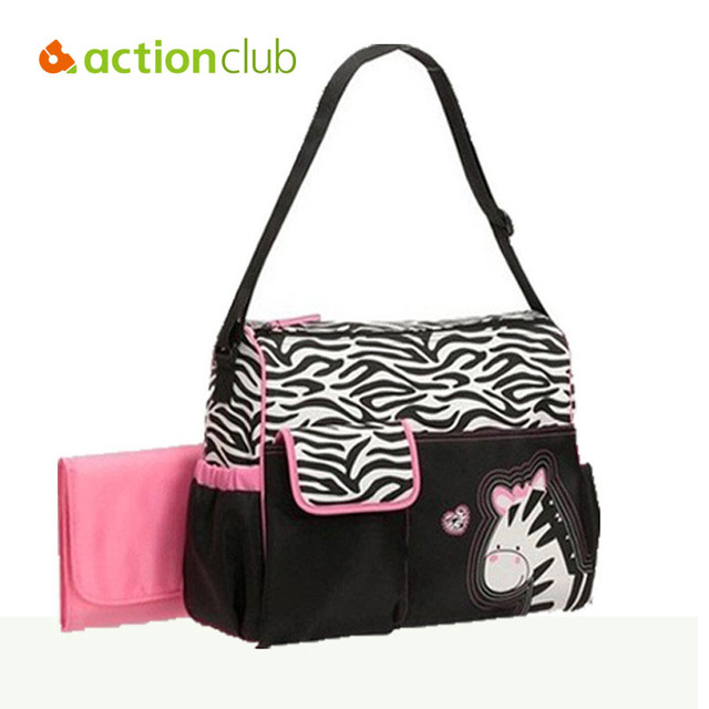 2016 Retail Fashion Multifunctional Nappy Mummy Bag Maternity Handbag Diaper Bags Baby Tote Organizer Hot Sale HK171