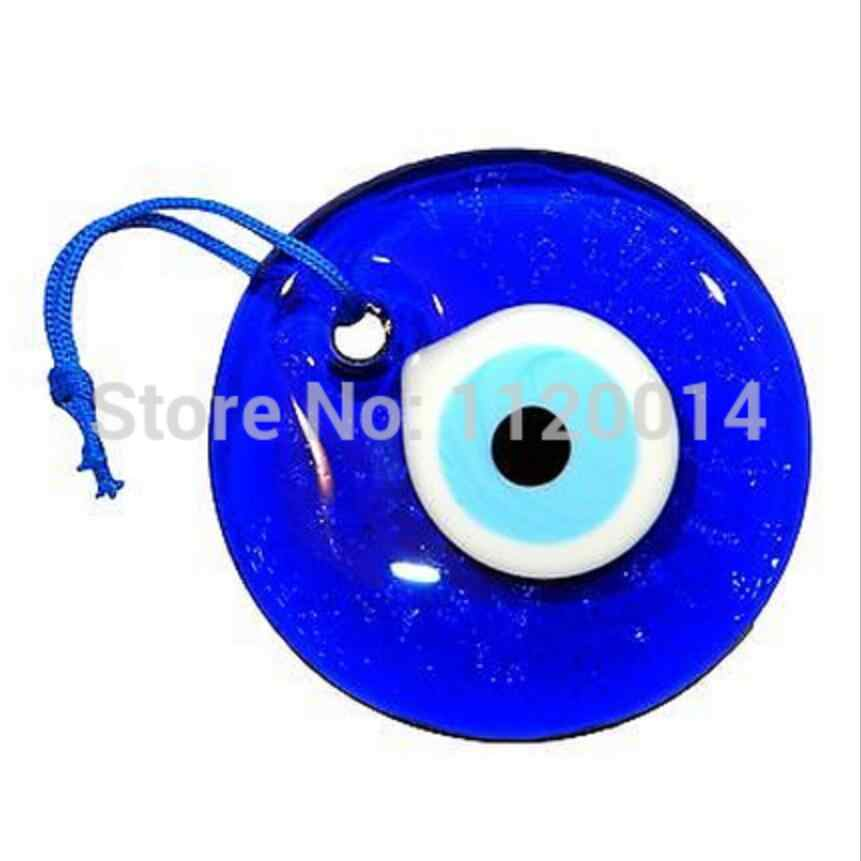 30mm Lucky eye Nazar Boncuk Turkish Greek Glass Hanging Good Luck Charms Pendant Protection Religion Jewelry Gift 30pcs