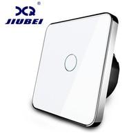Jiubei EU Standard Switch Wall Touch Switch 1 Gang 1 Way Switch AC 110V 250 SV