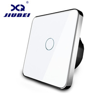 Jiubei EU Standard Switch Wall Touch Switch 1 Gang 1 Way Switch AC 110V 250 SV