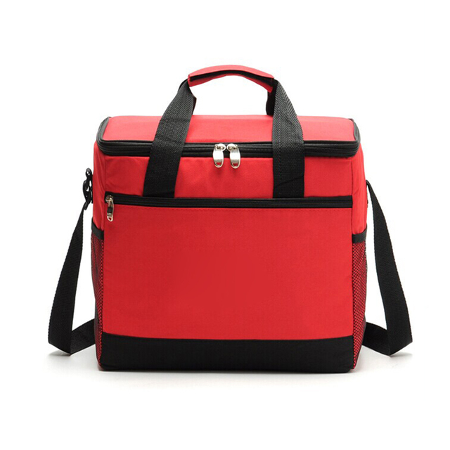 2017 Fully Portable Insulated Picnic Lunch Bag Large Capacity Carry Waterproof Lady Handbag Cooler Box Tote Free Shipping P463
