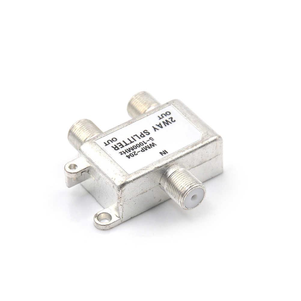 2-полосная HD цифровой коаксиальный кабель Splitter двунаправленный MoCA 5-1000 МГц разъем спутниковый ТВ приемник предназначен для SA ТВ/CA ТВ