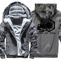 Winter Clothes Keep Warm city class Camouflage camo jacket Stylish Casual velvet Thermal winter jacket for men Masculino Jaqueta