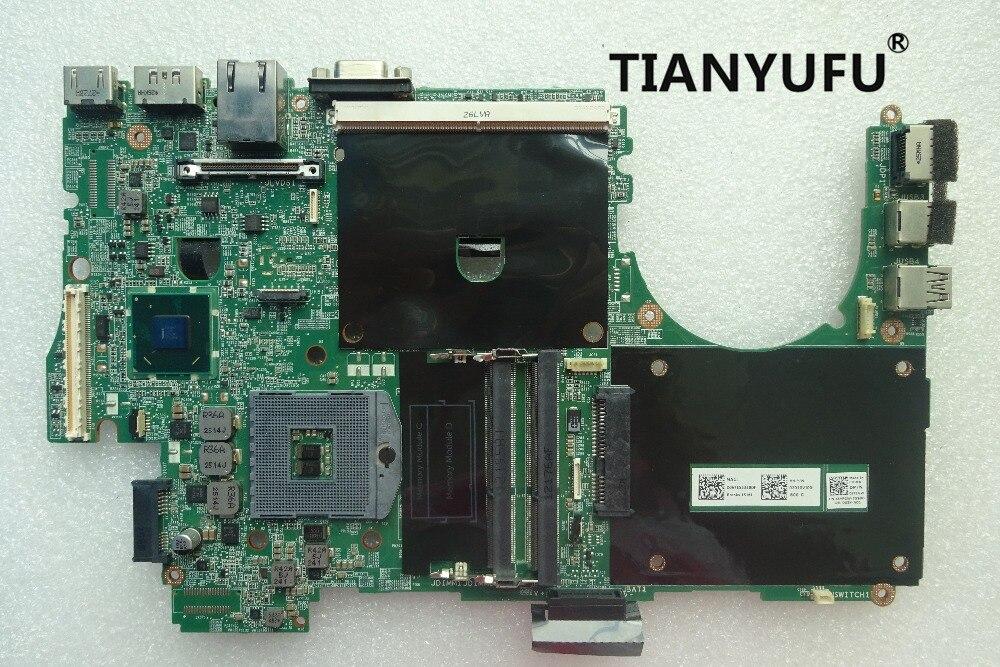 DELL Precision M4600 laptop motherboard mainboard 8YFGW 08YFGW CN-08YFGW QM67 motherboard DDR3 PGA989 tested 100% work 1