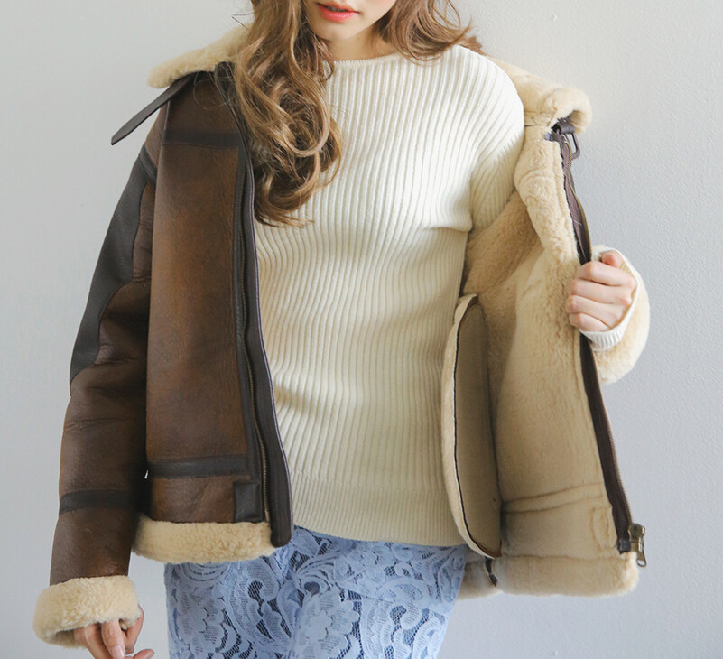 2018 New fashion Winter Woman Ladies hit the color Suede Leather Thick Lambs Wool Coat warm suede motorcycle jacket women F3602