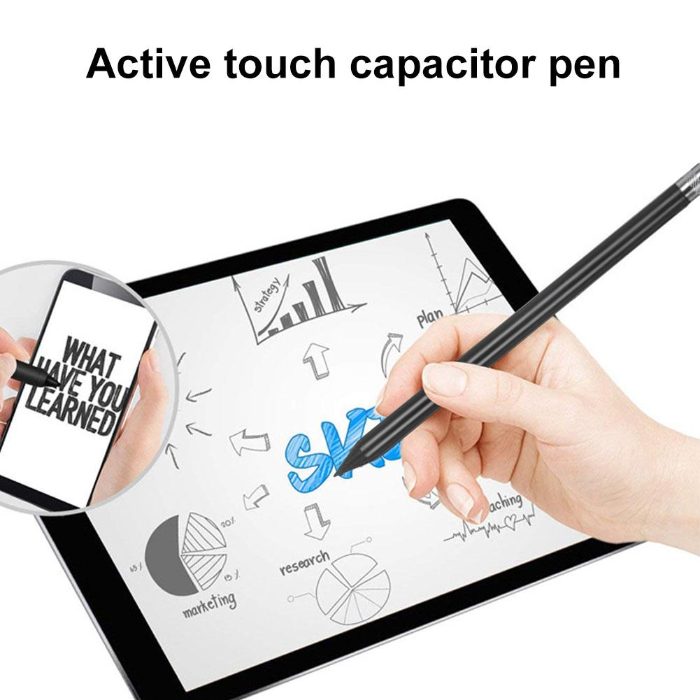 Hot Universal Dual-head Capacity Touch Screen Drawing Stylus Pen For Phones Tablets
