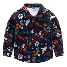 Boys Party Fleece Shirt 2-8 Yrs