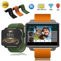 PK LEM4 PRO Android Smart Watch Phone 1GB 16GB 1200 Mah Battery Support GPS WiFi Nano SIM card Camera MP4 3G Smartwatch