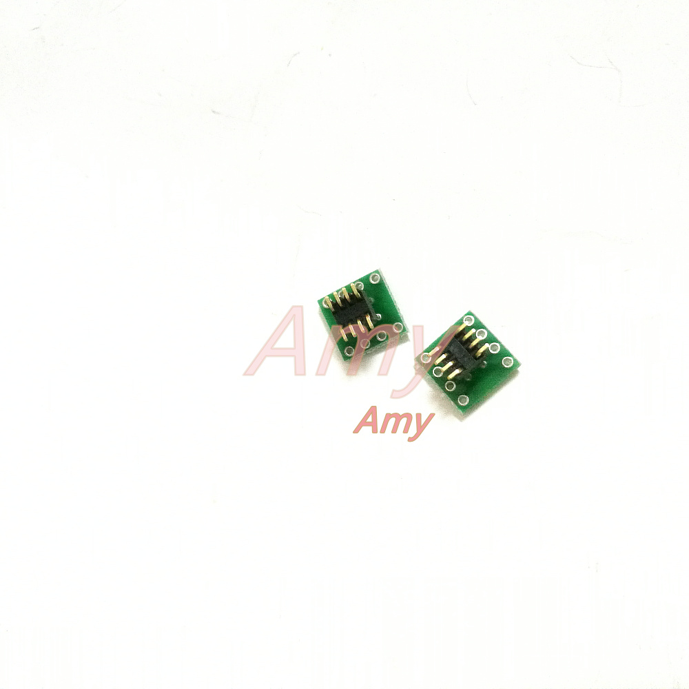 20pcs/lot  DIP8 Turn SOP8 Posted Sheet Line Card Upgrade Necessary Adapter Plate 1.27 * 2.54