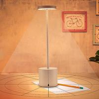 TPFOCUS LED USB Rechargeable Table Light Stylish Night Light with 2 mode Eye Protect Lamp Gift