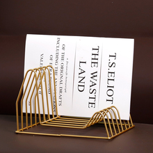 Металлическая настольная корзина для хранения шикарный Северный, скандинавский Золотой Стол корзина для хранения журнальный Органайзер книжный Декор для дома