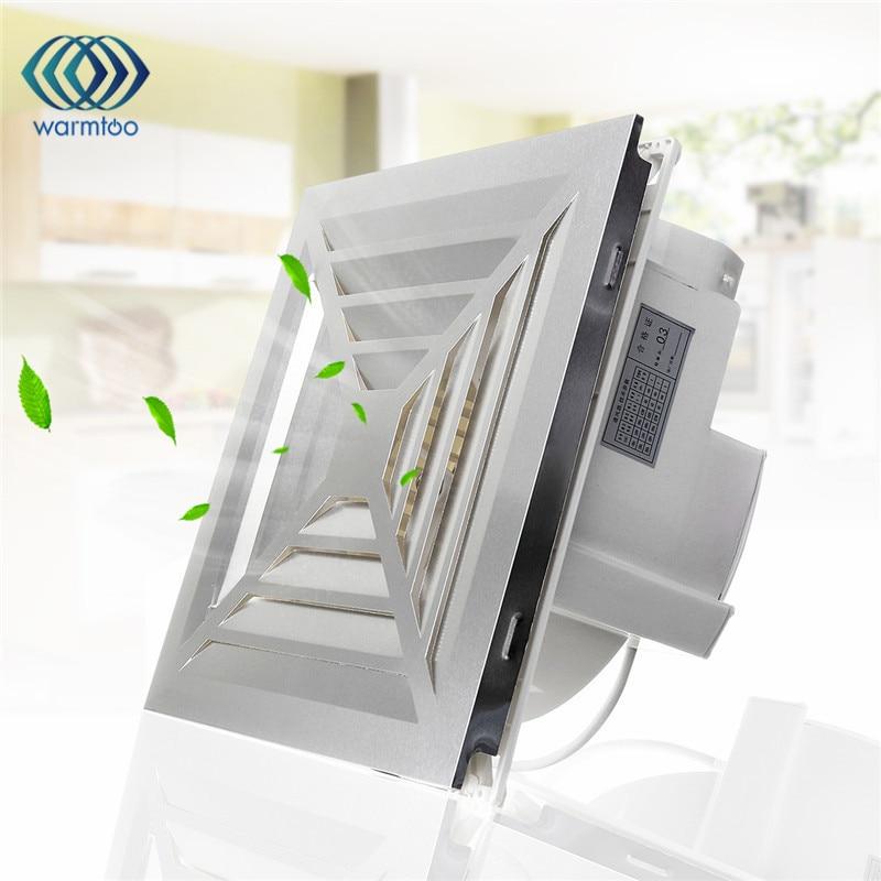 11.6 inch Ventilation Extractor Exhaust Fan For Blower Window Wall Kitchen Bathroom Toilet 43W 220V Fan Hole Size 260*260mm