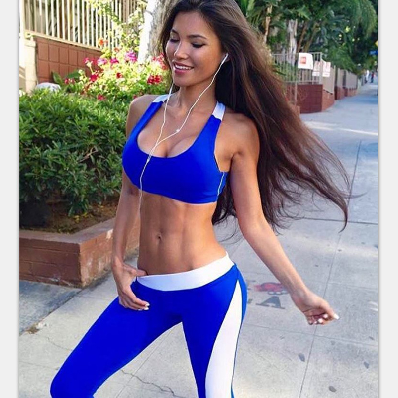 Aliexpress.com : Buy Women Yoga Sets Bra+Pants Fitness ...