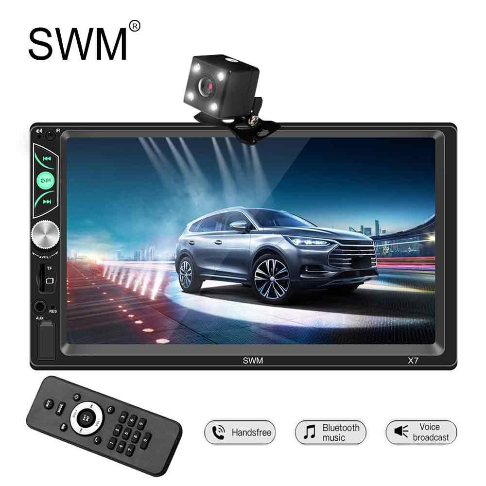 SWM 2 Din Car Radio Autoradio Android Multimedia Player Car Stereo 7 Oto Teypleri MP5 Player