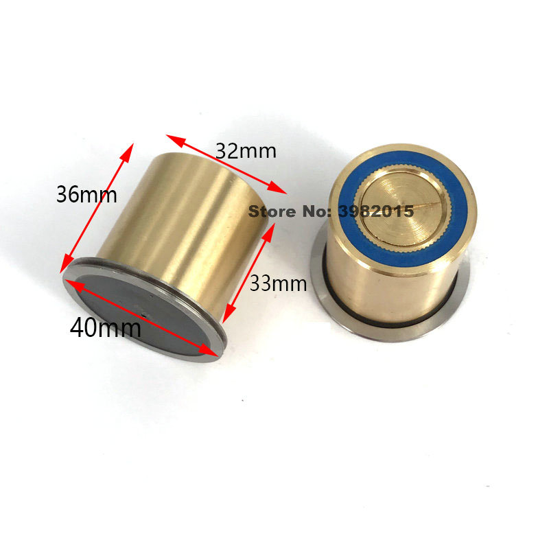 WEDM Parts Brass Pulley Guide Wheel Roller Assembly 152 OD32*L36mm for CNC Wire cutting Machine|  - title=