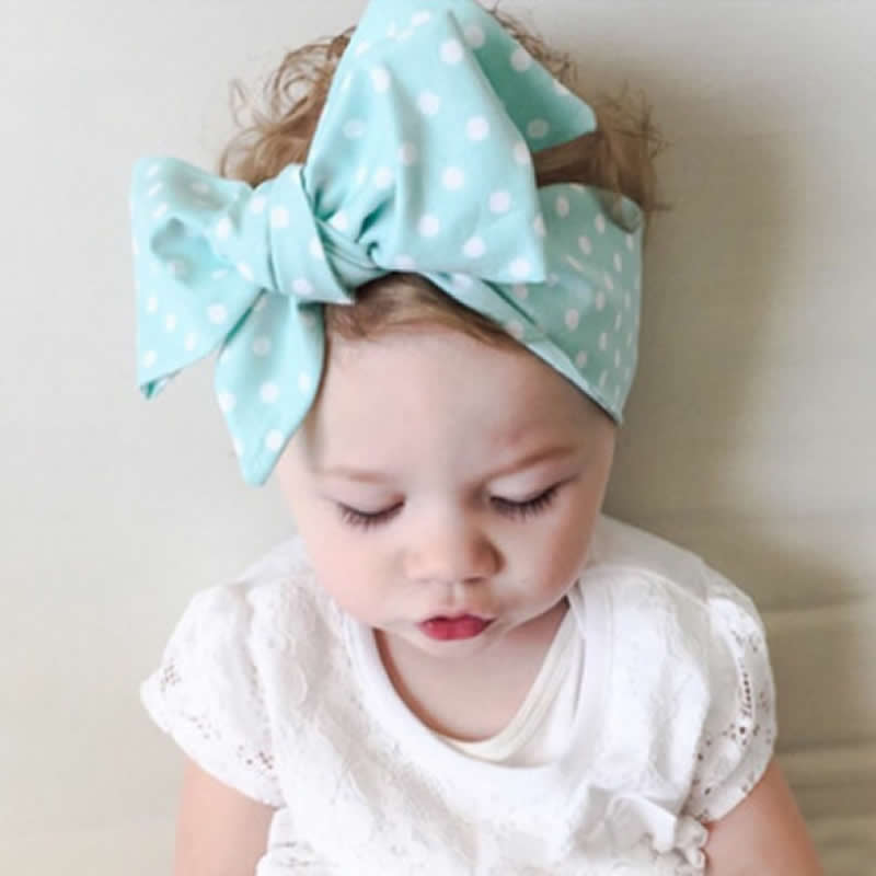 Kids Girl Baby Headband Toddler Lace Bowknot Flower Hair Band Headwear Headress