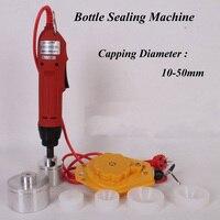 1pc Electric Capping Tools Handheld Pharmaceutical Bottle Capper Foils Jar Locking Machine