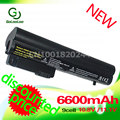 Golooloo 6600mAH battery for Hp EliteBook2533t 2530p 2540p 2400 2510p nc2400 HSTNN-XB22 HSTNN-XB23 RW556AA HSTNN-DB23 HSTNN-FB21