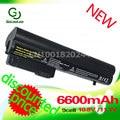 Golooloo 6600mAH battery for Hp EliteBook2533t 2530p 2540p 2400 2510p nc2400 HSTNN-XB22 HSTNN-XB23 RW556AA HSTNN-DB23 HSTNN-FB21