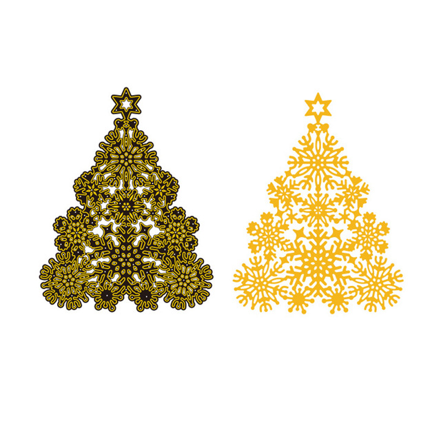 Aliexpress.com : Buy Hemere Christmas Tree Frame Metal Cutting Dies ...