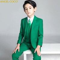 Boys Suits For Weddings Kids Blazer Suit For Boy Costume Enfant Garcon Mariage Jogging Blazer Tuxedo school terno para menino