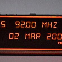 Экран Поддержка aux дисплей красный монитор 12 pin для peugeot 307(некоторые модели) 408(некоторые модели) экран citroen C4(некоторые модели