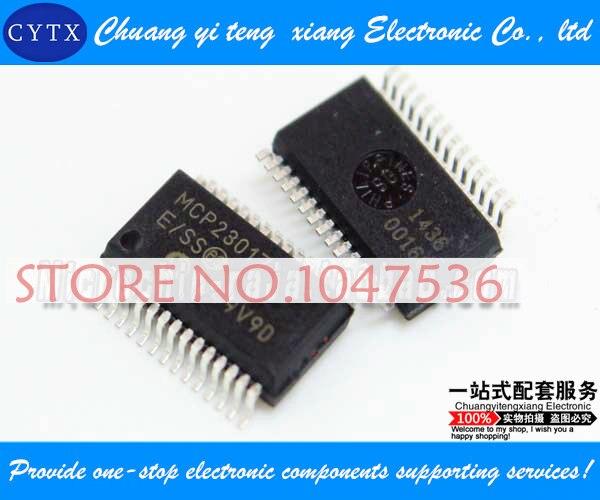 MCP23017-E/SS SSOP28 integrated circuit IC Single chip Best selling 5pcs/lot