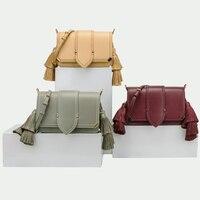 Для женщин кожаная сумка кисточкой склонны сумка Роскошные сумки Bolsas Feminina дизайнер 2019 torebka