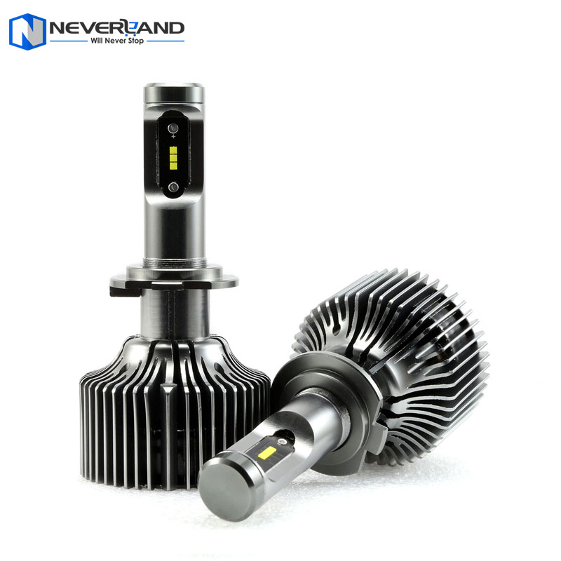 2 X H7 90W 9600LM P7 Led Car Headlight Conversion Kit Driving Fog Lamp Bulb DRL 6000K Light Sourcing