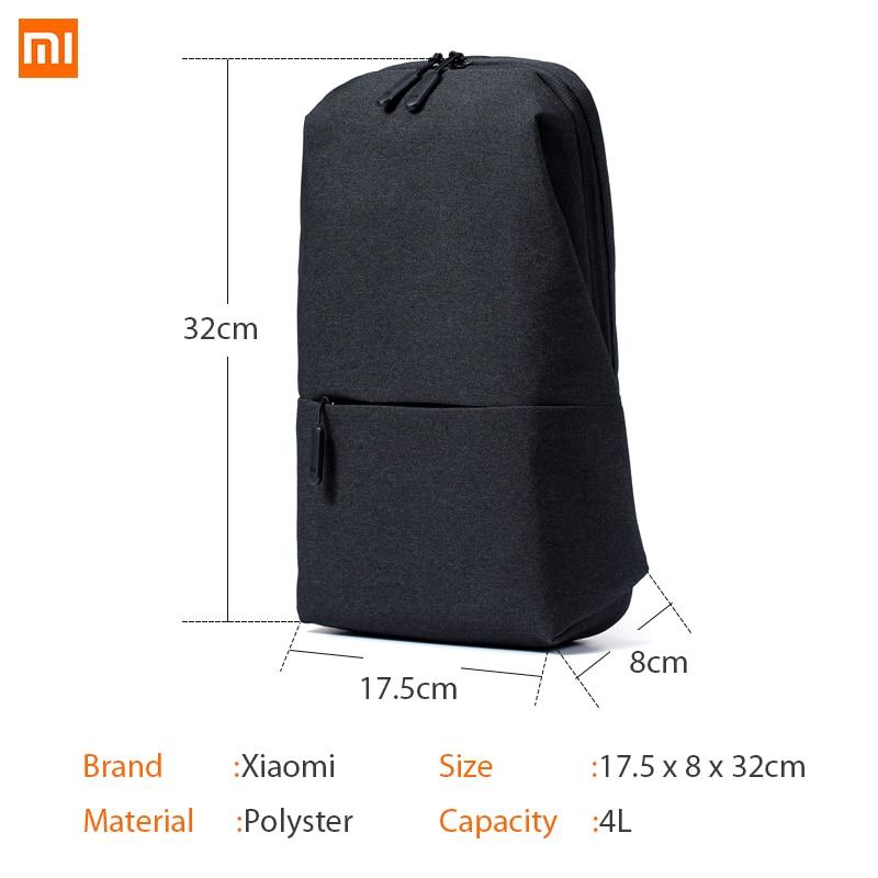 de03760a7186 Xiaomi Sling Chest Bag Waterproof Sling Bag Sport Back Pack Unisex Rucksack  Urban Leisure Shoulder Bag-in Bags from Consumer Electronics on  Aliexpress.com ...