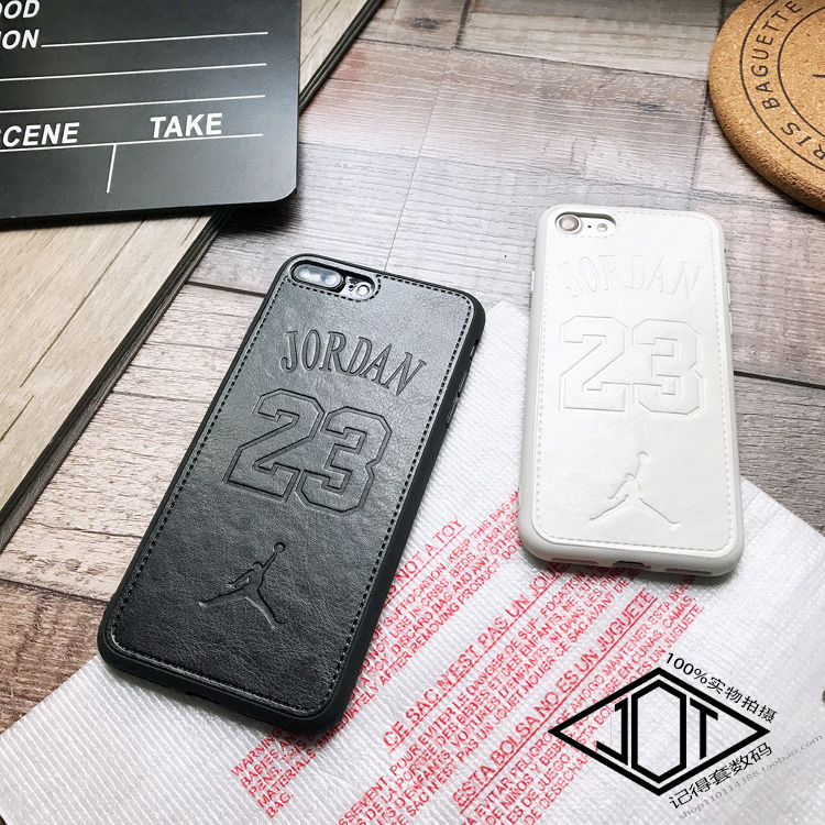 For Iphone 6 6plus 6s Plus 7 7plus 8 X <font><b>Case</b></font> Sports <font><b>Nba</b></font> Air Jordan 23 <font><b>Phone</b></font> Cover Soft Luxury Leather Couple <font><b>Cases</b></font> Coque Capa