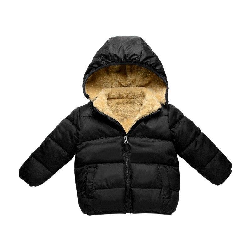 CROAL CHERIE Children's Parkas Winter Jacket For Girl Boys Winter Coat Kids Warm Thick Velvet Hooded Baby Coats Outerwear  (1)