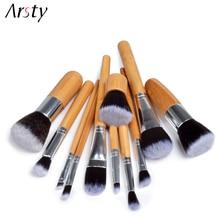 Arsty 10/11PCS/Set Makeup Brushes Eyebrow Eyeliner Blush Powder Cosmetic Conceal