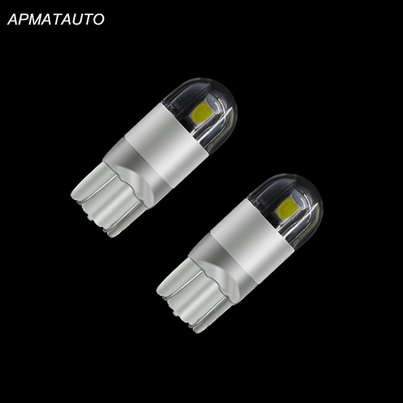 2x T10 High Power For Samsung Chip Parking Side <font><b>Light</b></font> <font><b>Bulb</b></font> <font><b>LED</b></font> Marker Lamp For <font><b>Mazda</b></font> 2 3 <font><b>6</b></font> 5 CX-5 12V image